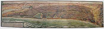 La carte de l'autoroute des dunes
