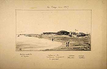 Eyrac en 1847