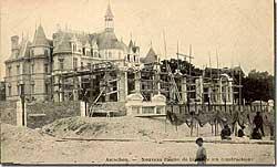 Le Salon des Ambassadeurs en construction
