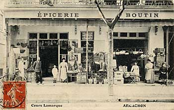 L'épicerie Boutin, cours Lamarque