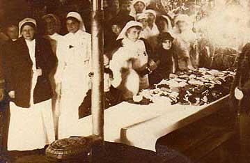 Noël à Saint Elme en 1914