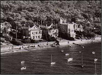 Les plages du Moulleau dans les années 1950