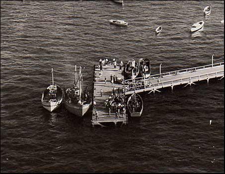 Un ponton des pêcheries