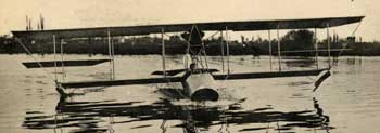 Le Flying-Boat, un hydroaéroplane de Paulhan et Curtiss
